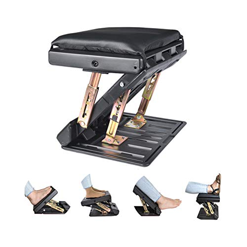 Adjustable Footrest with Removable Soft Foot Rest Pad...