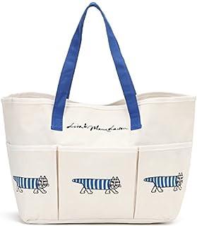 Lisa Larson リサ・ラーソン  オリジナル マルチバッグ ブルー トートバッグ 大容量