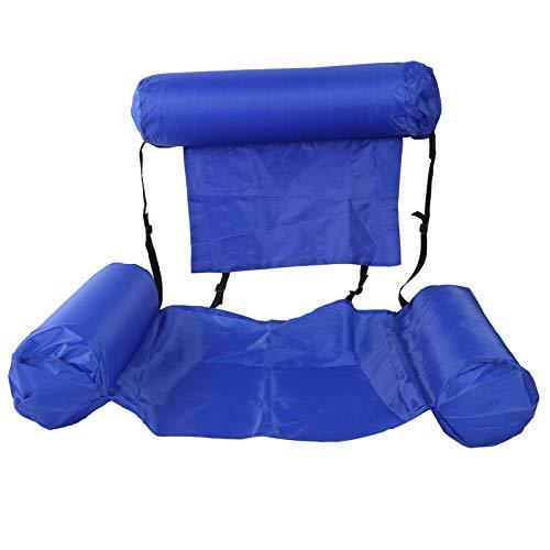 VINGVO Amaca per piscina, lettino galleggiante gonfiabile, portatile, facile da riporre per l'intrattenimento acquatico per galleggiare.