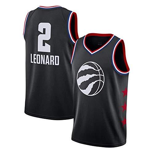 ASSD Camiseta de baloncesto para hombre NBA Raptors 2 Leonard Tops sin mangas