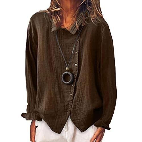 Camiseta Holgada De Temperamento De Color SóLido Transpirable Superior De Color SóLido para Mujer
