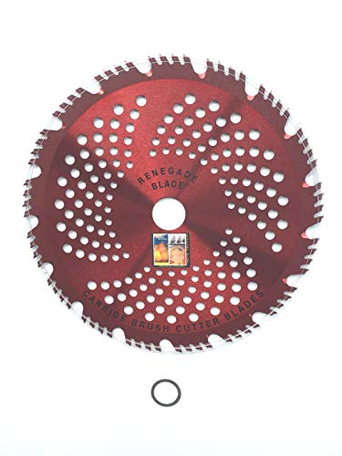 """Renegade Blade 2pk-9""""-68t - Renegade Razor/Hybrid - Combo Specialty Carbide Brush Cutter Weed Eater Blades, 230mm"""