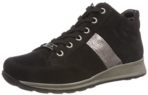 ara OSAKA, Damen Hohe Sneaker, Schwarz (SCHWARZ, TITAN 65), 41 EU (7 UK)