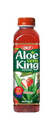 OKF Aloe Vera Getränk Erdbeere, 20er Pack (20 x 500 ml)