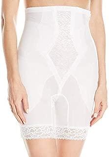 Rago Women's High Waist Medium Shaping Zipper Long Leg Shaper