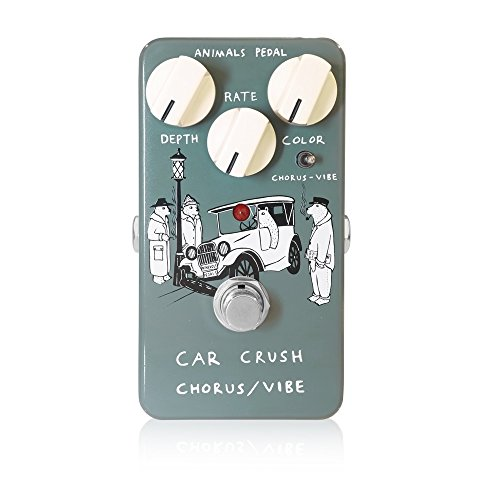 Animals Pedal (アニマルズペダル) Car Crush Chorus/Vibe / アニマルズペダル コンパクトで扱いやすい。ど...