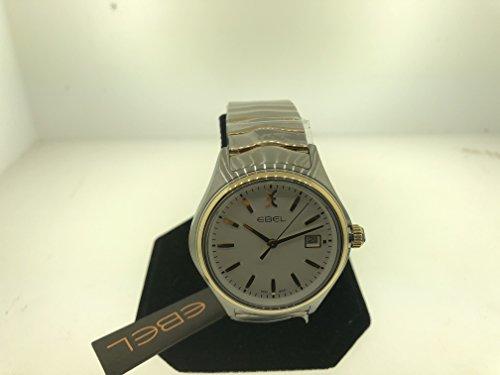 Ebel Damen Uhr analog Schweizer Quarzwerk mit Edelstahl Armband 1216203