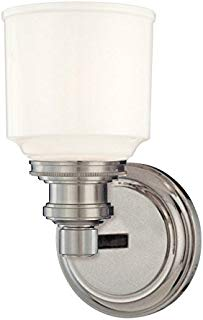 Hudson Valley Lighting 3401-SN One Light Bath Bracket from The Windham Collection, 1, Satin Nickel