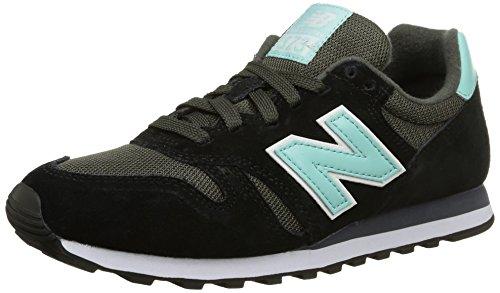 New Balance Wl373 B, Damen Sneakers, Schwarz (multicolore), 7.0 US - 37.5 EU