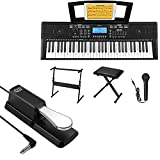 Donner DEK-610 Beginner Electronic Piano + DK-1 Sustain Pedal for Keyboard