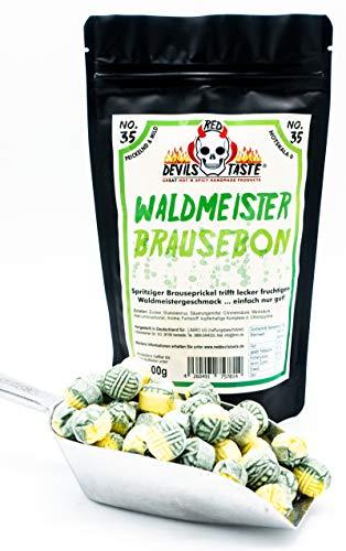 Waldmeister Brause Bonbon - mild - 200g - Hotskala: 0 Optimal für Kinder geeignet