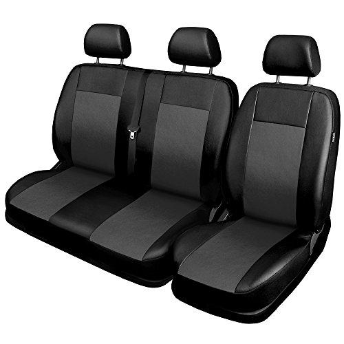 GSC Sitzbezüge Universal Schonbezüge 1+2 kompatibel mit OPEL VIVARO