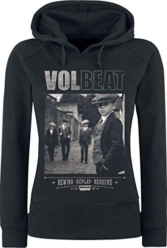 Volbeat Cover - Rewind, Replay, Rebound Frauen Kapuzenpullover schwarz XXL