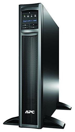 APC Smart UPS SMX - SMX1000I - USV 1000VA (Rack / Tower, bis zu 20 min. Überbrückungszeit bei Stromausfall, LCD Panel, ECO Mode - Stromsparfunktion)