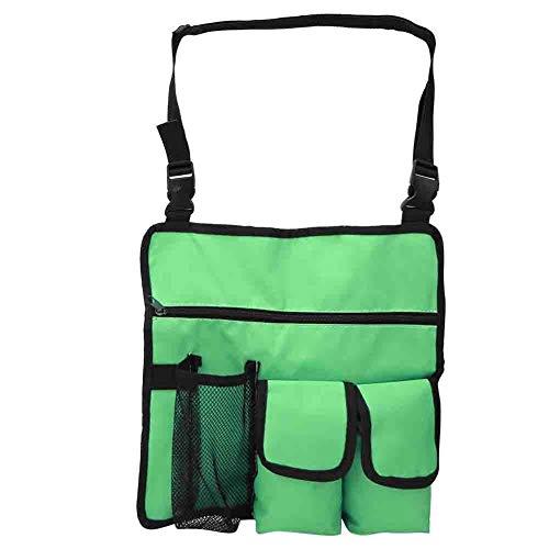 Vbest life Outdoor Beach Camping Stuhl Tasche, wasserdichte 600D Oxford Cloth Messenger Bag mit isolierter Tasche für die Aufbewahrung von Lebensmitteln und Getränken(Grün)