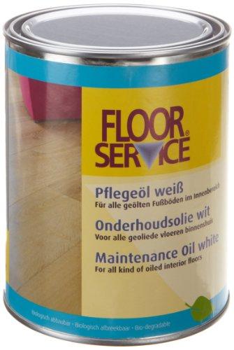 Overmat Industries B.V. 33327 Floorservice Color Pflegeöl  1000 ml, weiß