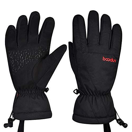 Guanti da sci, guanti da neve impermeabili, antivento, invernali, per utilizzare touchscreen, guanti...