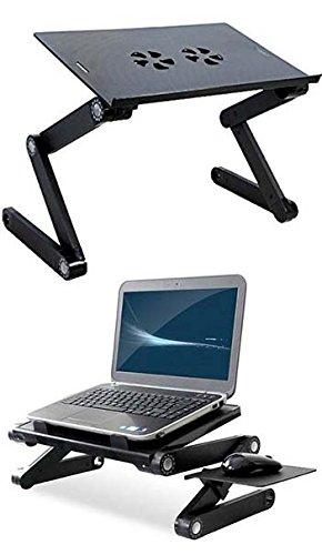 Mesa Para Notebook Dobravel Multifuncional Com Cooler (BSL-MESA-3)