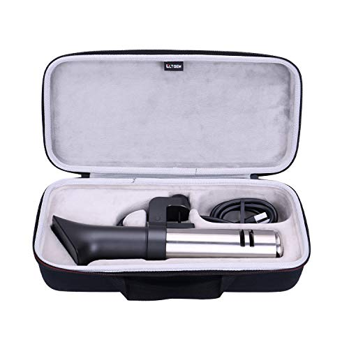 LTGEM EVA Hard Case for Anova Culinary | Sous Vide Precision Cooker Pro (WiFi), 1200 Watts, All Metal, Anova App Included