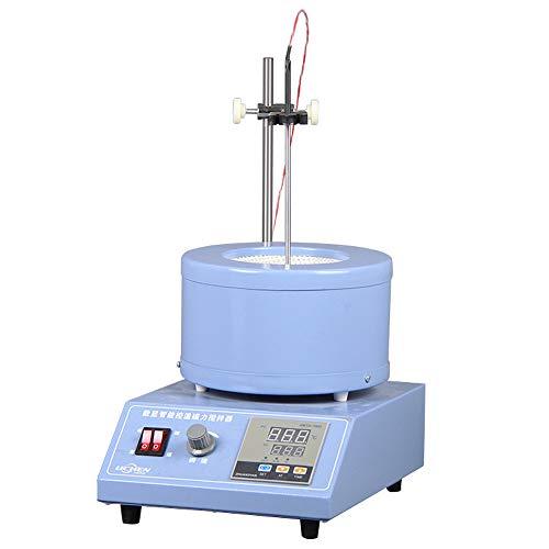 hzexun Chaqueta de calefacción eléctrica termostato de pantalla digital agitador magnético ajuste de temperatura de tiempo equipo de laboratorio calefacción (1000ML)