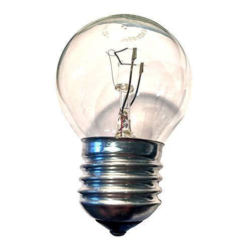 Weigand Philips Glühbirne 40 Watt E27 I Für den Einsatz in der Sauna I Glühlampe I Beleuchtung I Saunazubehör I Leuchte I Lampe I Saunalampe I Leuchtmittel I 40 Watt