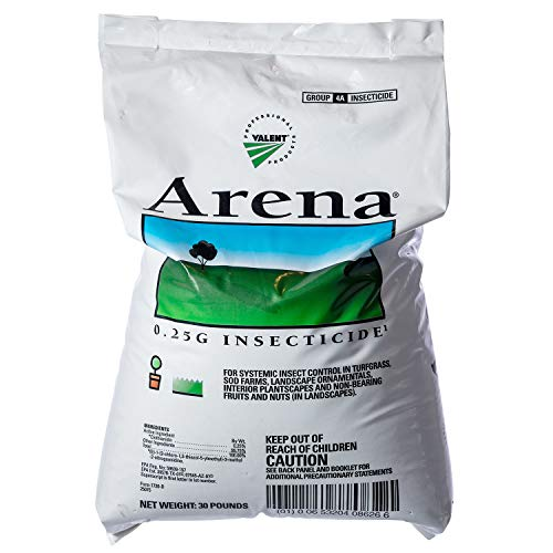 Arena .25 Granular Insecticide Grub Control Turfgrass Controls White Grubs 30 Lb Not For Sale To: California