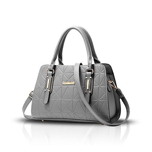 Tisdaini El bolso de las mujeres realzó el hombro Bolso de la señora de las señoras del bolso del bolso ocasional de la conmutación