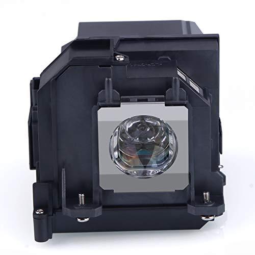 Huaute V13H010L91 / ELPLP91 Lámpara de proyector de Repuesto con Carcasa para EPSON BrightLink 695Wi EB-695Wi EB-685W EB-685WS 685Wi PowerLite 680 685W 685Wi EB-680 EB-680S Proyectores