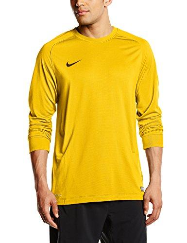 Nike 588418-739 Haut à Manches Longues Homme University Gold/Black FR : M (Taille Fabricant : M)