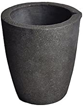 #3 4KG MegaCast, Foundry Clay Graphite Crucibles Black Cup Furnace Torch Melting Casting Refining Gold Silver Copper Brass...