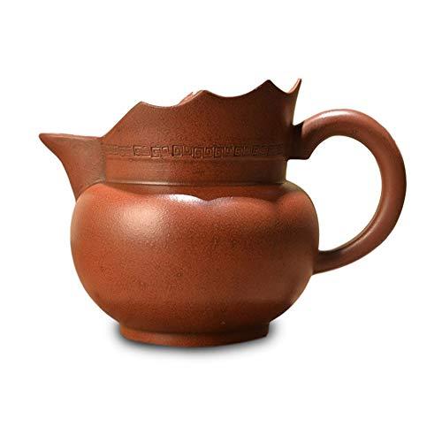 LEBAO Teetasse Teekanne Teeset Mit Tasse Porzellan Tasse Teekanne Pflanze Kapuziner (Color : Brown)
