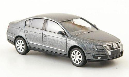 VW Passat (B6), met.-grau, 2005, Modellauto, Fertigmodell, Wiking 1:87