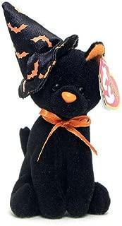 TY Halloweenie Beanie Baby - SCURRY the Cat