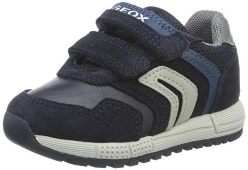 Geox Baby-Jungen B ALBEN Boy D Sneaker, (Navy/Dk Avio), 23 EU