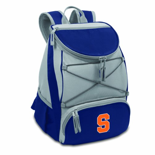 picnic time ice bags PICNIC TIME NCAA Syracuse Orange PTX Insulated Backpack Cooler, Navy, One Size (633-00-138-544-0)