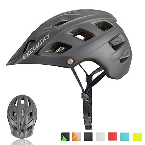 Exclusky Mountain Bike Helmet MTB Bicycle Cycling...