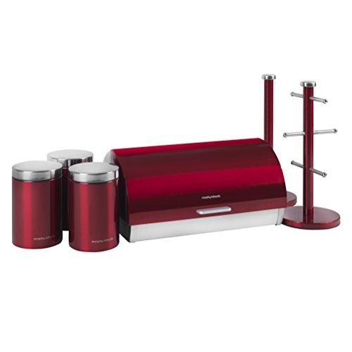 Morphy Richards Set di contenitori, 6 Pezzi Red