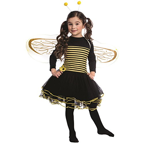 Dress Up America Conjunto de Disfraz de Abeja Talla Niños 2