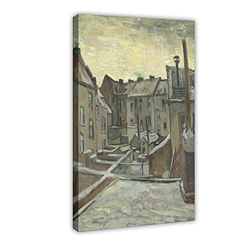 Van Goghs abstracte kunst schilderij poster Antwerpen achtertuin woonkamer slaapkamer decoratie schilderij canvas poster muur kunst decoratie schilderij schilderij schilderijen voor woonkamer slaapkamer decoratie 24×36 stuks