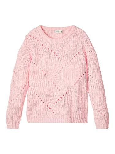 NAME IT Mädchen NKFDANA LS Knit Pullover, Potpourri, 134-140