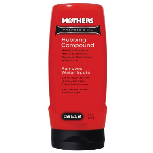 Mothers 08612 Professional Rubbing Compound - 12 oz.