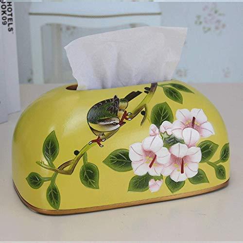SKYEI New Chinese Ceramic Tissue Box Household Drawers Restaurant Decorations Personalized Napkin Box