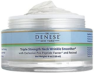 Sponsored Ad - Dr. Denese SkinScience Triple Strength Neck Wrinkle Smoother Tighter, Firmer Neck with Enhanced Peptide Tec...