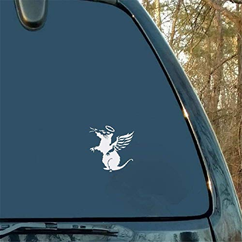 Angel Rat auto raamsticker motorfiets bumper auto raam laptop auto Styling voor auto laptop raam sticker
