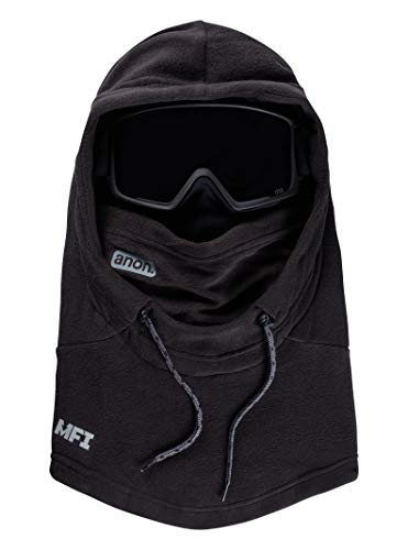 Anon MFI Fleece Helmet Hood Clava, Black W20