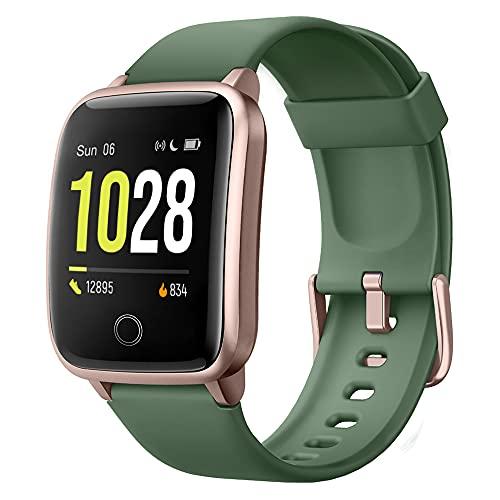 Montre Connectée, Willful Bracelet Connecté Podometre Fitness Tracker d'Activité Etanche IP67 Smartwatch Cardiofréquencemètre Cardio Sport Femme Homme Enfant pour iPhone Samsung Huawei Android iOS.
