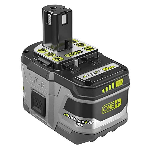 Ryobi 18-Volt Lithium + HP High Capacity 9.0 Ah Battery