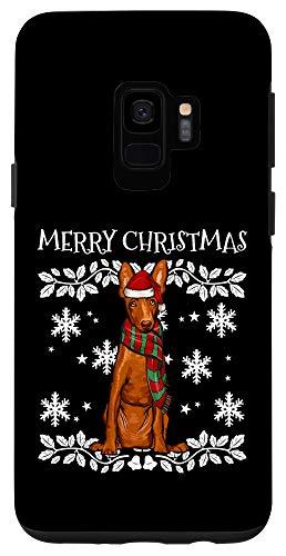 Galaxy S9 Merry Christmas Ornament Cirnechi dell'Etna Xmas Santa Case