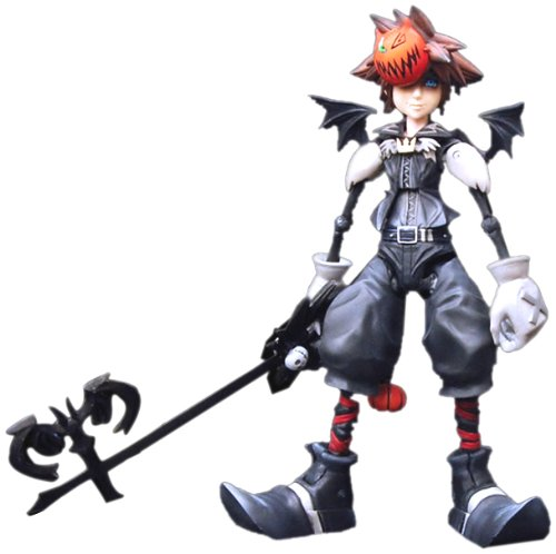 Kingdom Hearts Disney Square-Enix 2 Play Arts Action Figure Sora (Halloween Town)