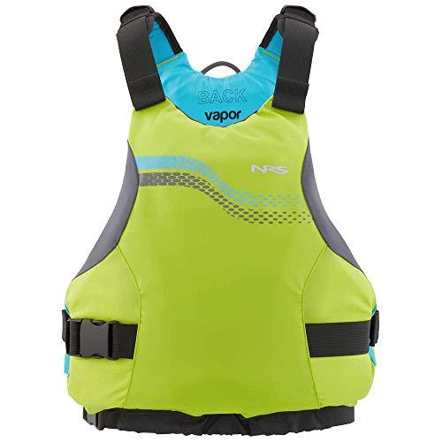 NRS Vapor Kayak Lifejacket (PFD)-Lime-XS/M